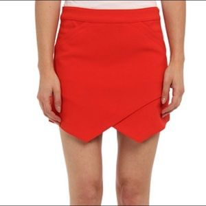 BCBGMAXAZRIA Breckett envelope mini skirt